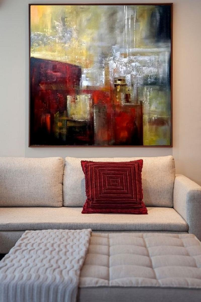 Como Decorar A Sala Com Quadros Curiousguys Quadros Decorativos  -> Quadro Abstrato Pra Sala Barato