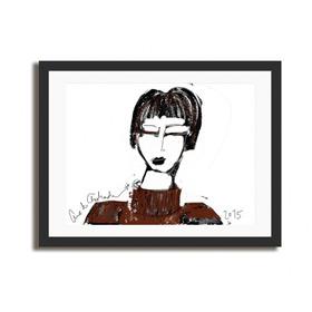 Quadro Paula / Obra De Arte Digital - Fine Art   60x90