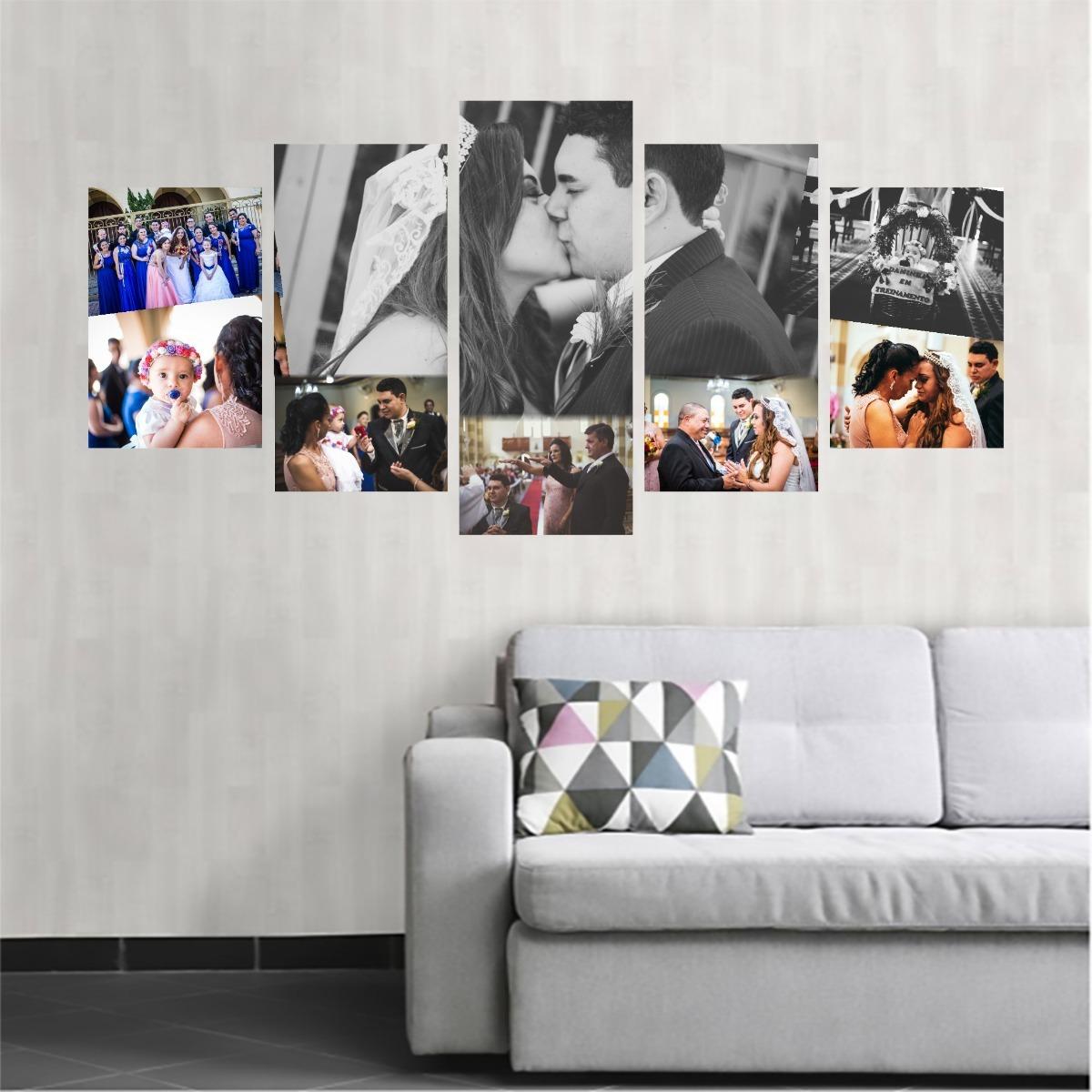 08150c38e quadro personalizado mega quadro 2x1 tela canvas com foto. Carregando zoom.