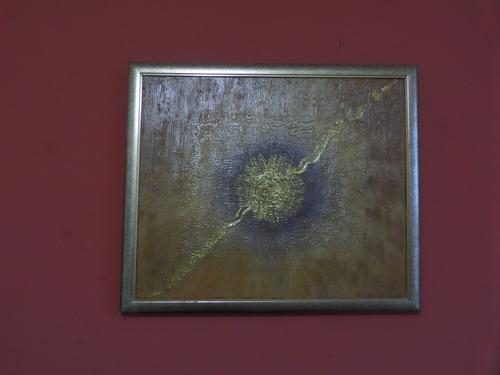 quadro pintura abstrata  nascimento