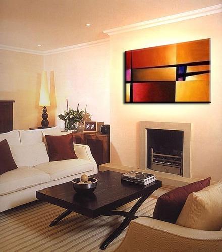 quadro pintura tela abstrato vermelho amarelo 0,6 x 1 metro