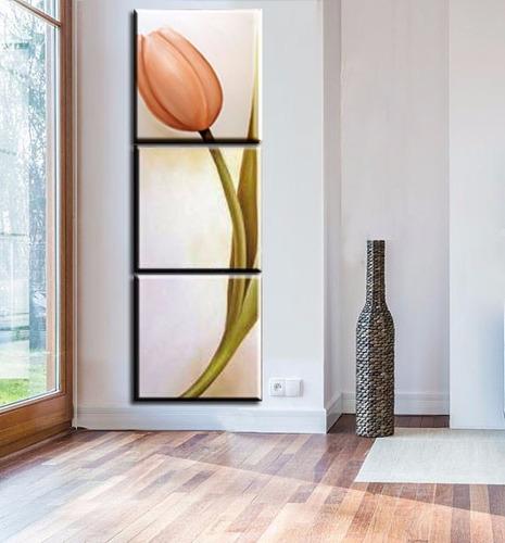 quadro pintura tela tulipa nude