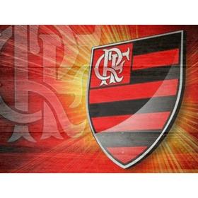 Quadro Placa Decoração Time Futebol Flamengo Grande 90 Cm