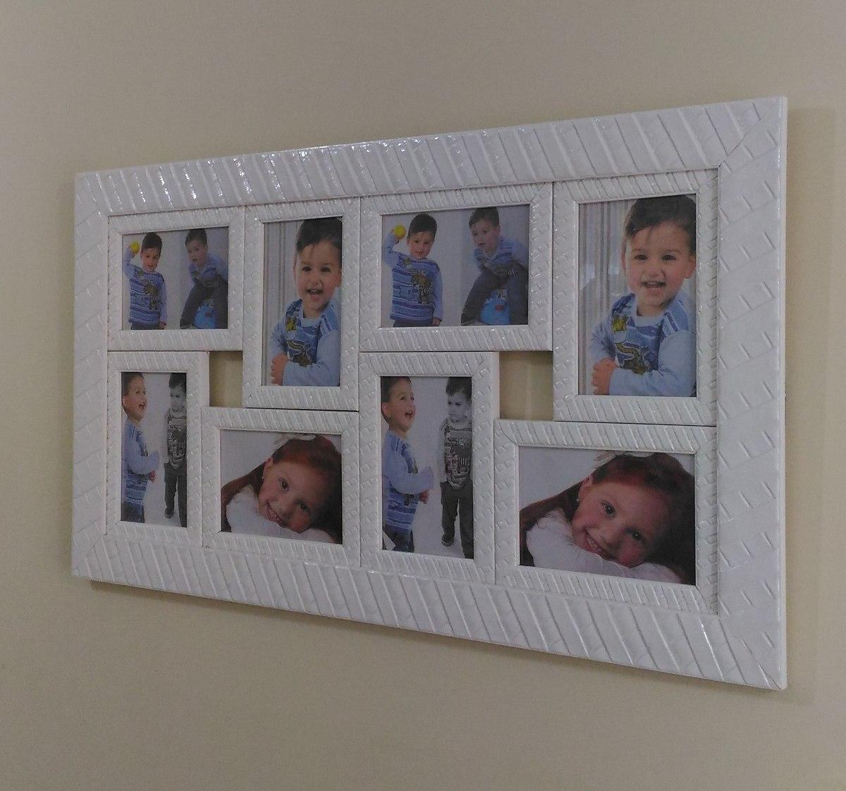 Quadro Porta Retrato Fotos Sala Painel Quarto Decorativos R 162  ~ Como Fazer Quadros Decorativos Para Quarto De Bebe