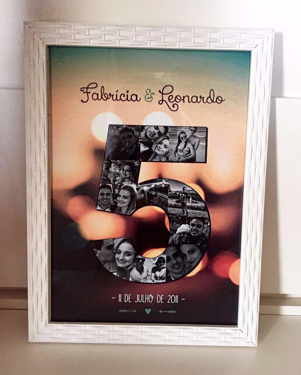 Quadro Porta Retrato Namorados Casal Presente R 80 00