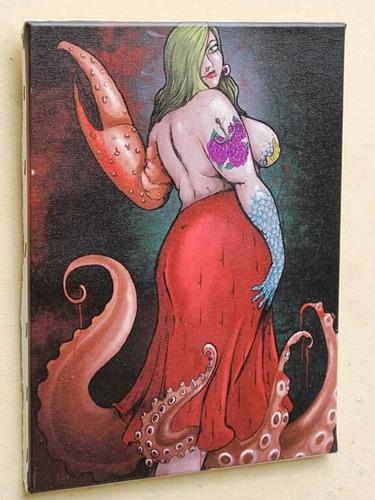quadro print ilustração rlucena  impressão em tela d pintura