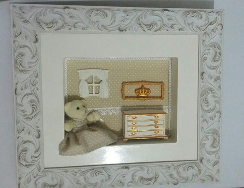 quadro provençal para bebê