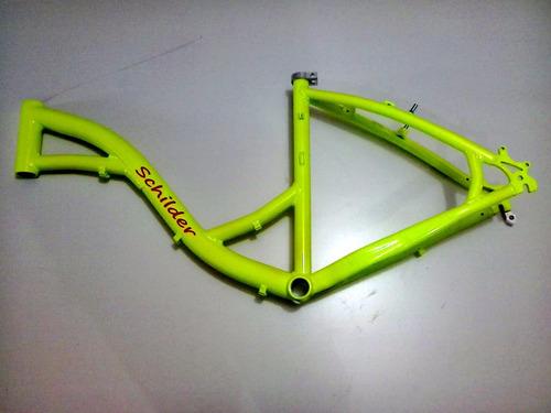 quadro schilder de alumínio marca fib amarelo neon p/ aro 26