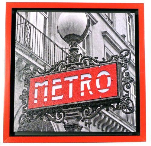 quadro serie londres mod metro fwd-304