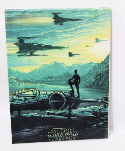 quadro star wars x wing impressão em canvas