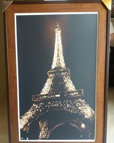 quadro strass cristais paris torre eiffel 1,20 x 50