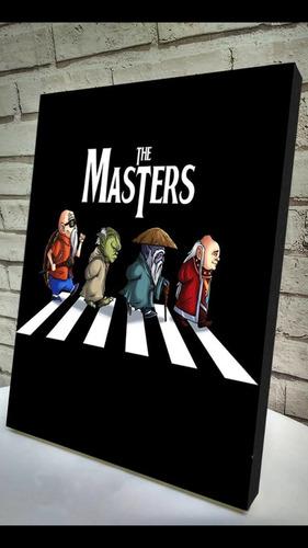 quadro the masters  impressão em tela d pintura