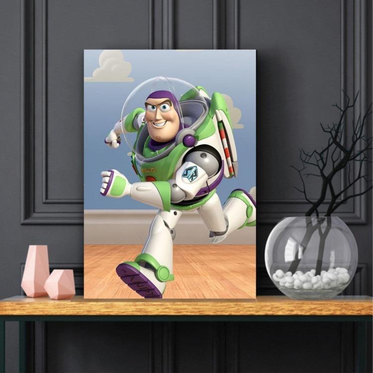 Quadro Toy Story Bas Laitir Decorativo Tela De Tecido R 59 00