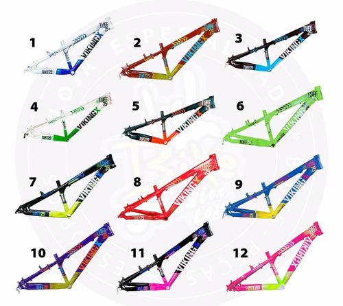 quadro vikingx tuff 25 bike bicicleta aro 26