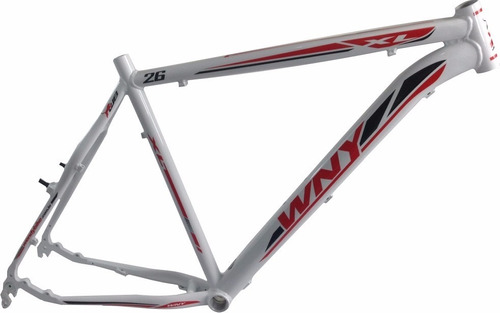 quadro wny26 silver track,ciclismo,kalf,caloi bicicleta,mtb