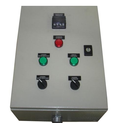 quadro  painel de comando para motores e bomba de piscina