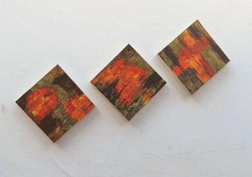 quadros abstratos 30x30cm