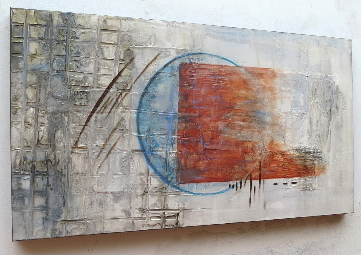 Quadros Abstratos Decorativos Promo O R 259 00 Em Mercado Livre -> Quadro De Parede Para Sala Abstrato