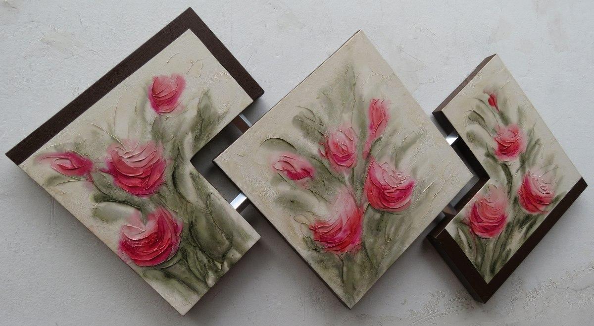 Quadros Abstratos Sala Sala De Jantar R 128 00 Em Mercado Livre -> Quadro De Parede Para Sala Abstrato