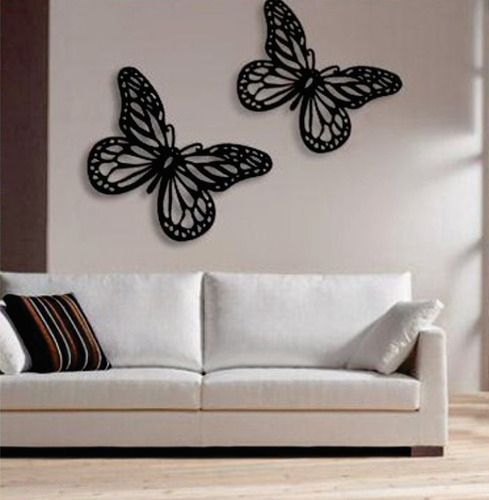 quadros borboletas em escultura de mdf vazado