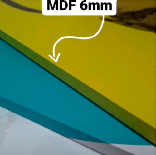 quadros decoração investidor trader azul mdf 6mm