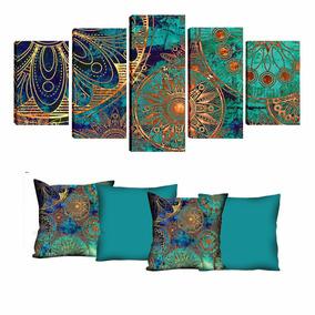 8215d1216 Quadros Decorativos 4 5 Pecas Wow no Mercado Livre Brasil