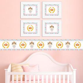 4b8f2540f Quadros Decorativos Para Quarto De Bebê no Mercado Livre Brasil