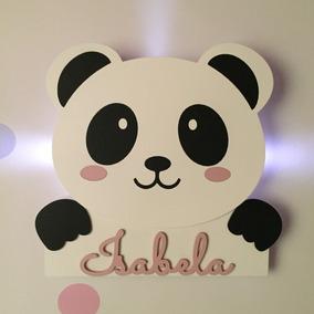 1596737f9 Quadro Do Panda Para Quarto De Bebe no Mercado Livre Brasil