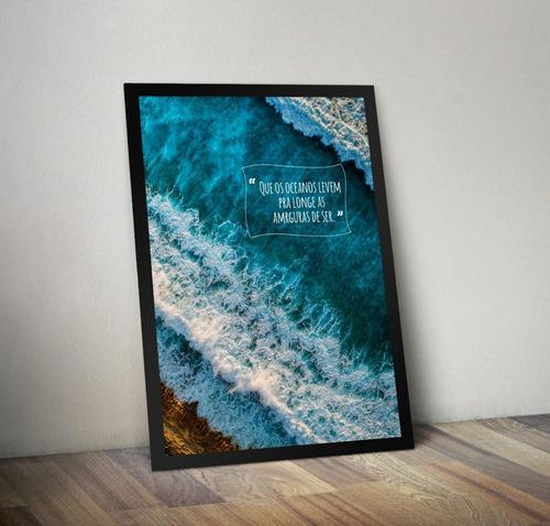 quadros decorativos a3 (moldura e vidro)