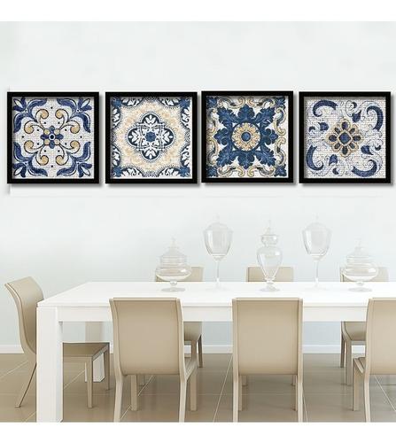 quadros decorativos azulejos portugueses 60x60