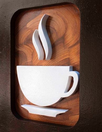 quadros decorativos cozinha sala café pintura 2 unidades