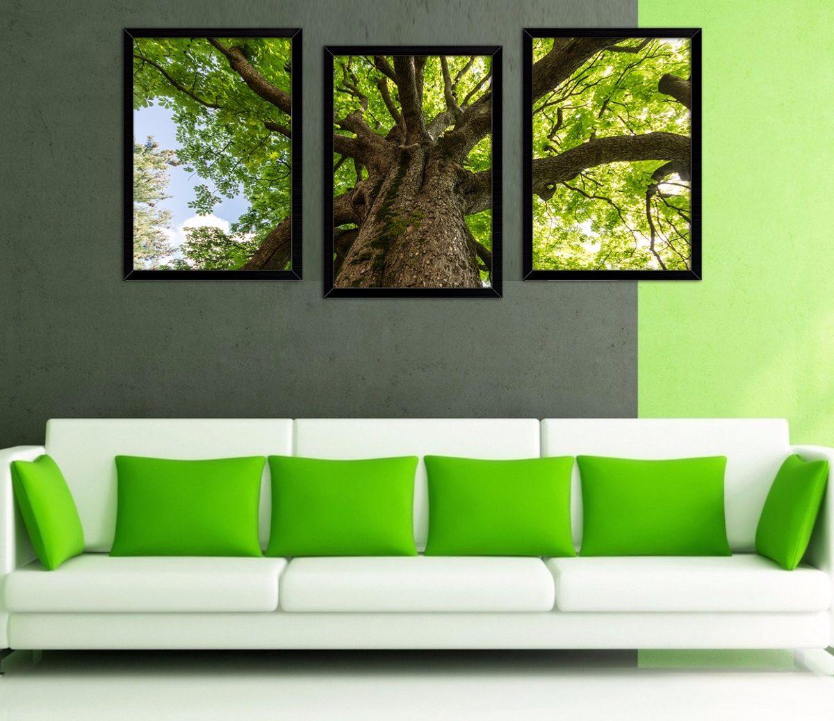 Quadros Decorativos De Parede Com Vidro Para Sala Quarto R 179 90