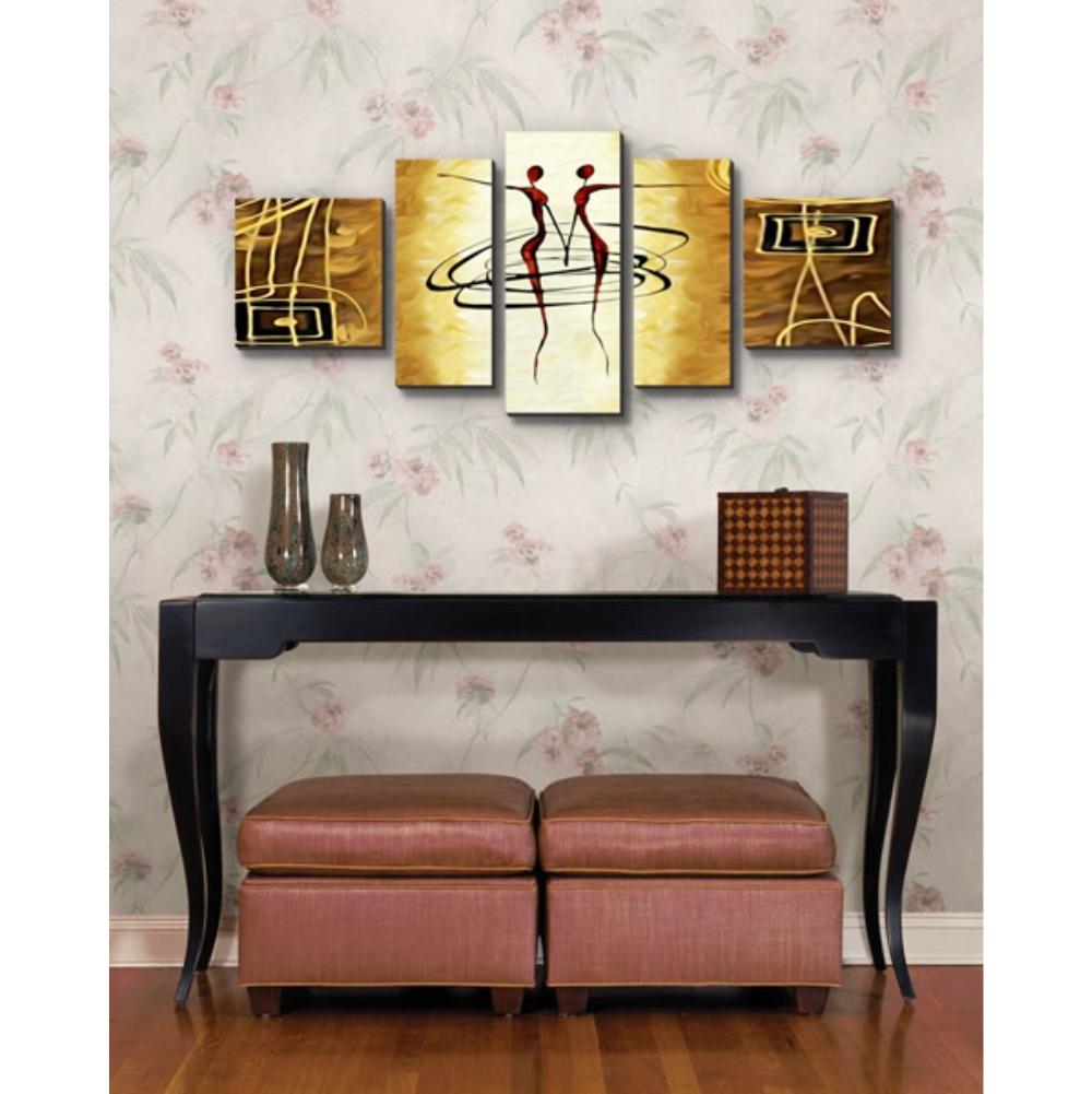 b9faf7093 quadros decorativos de parede m 5 peças frete grátis. Carregando zoom.