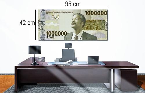 quadros decorativos de um milhão de reais 3d - 1 peças