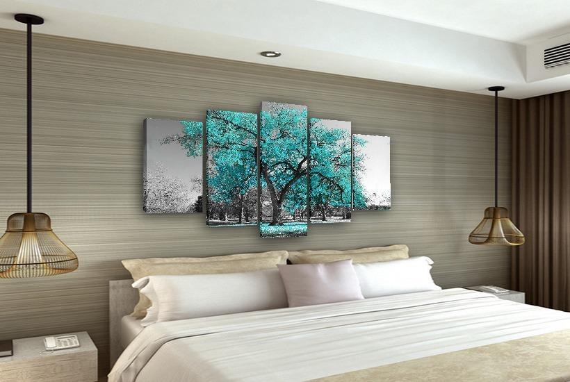 ba6eddd9f quadros decorativos para quarto casal 5 telas - novidade. Carregando zoom.