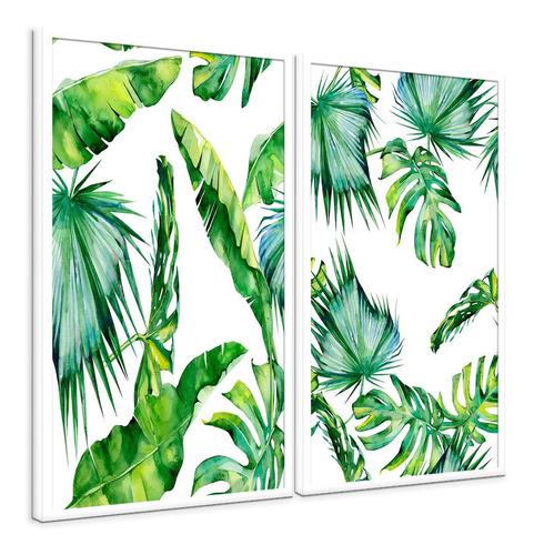 quadros decorativos para sala conjunto com 2 canvas lindos