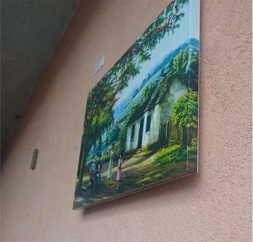 quadros decorativos pequenos 29,5cm x 17,5cm paisagem, sítio