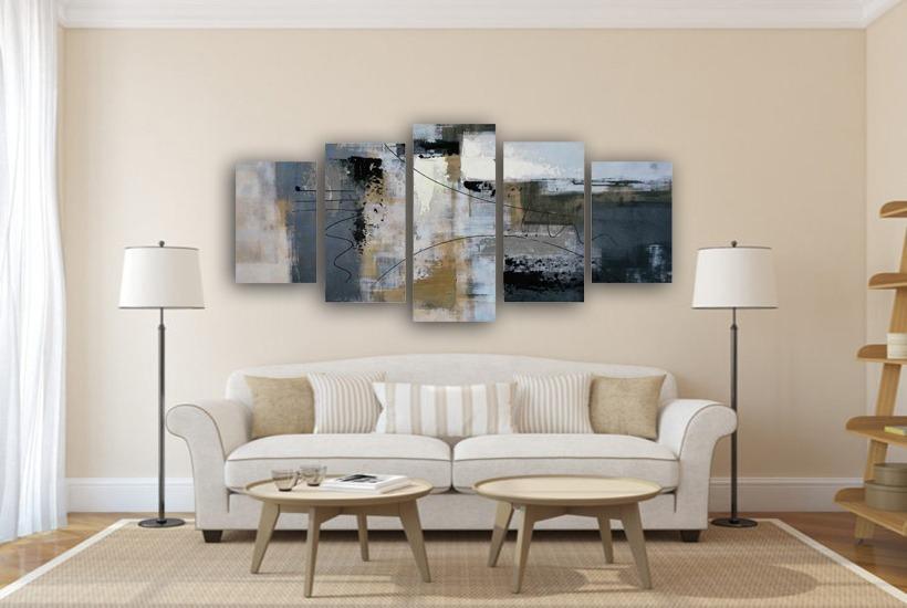 0c9139fde quadros decorativos sala 5 partes - novidade. Carregando zoom.