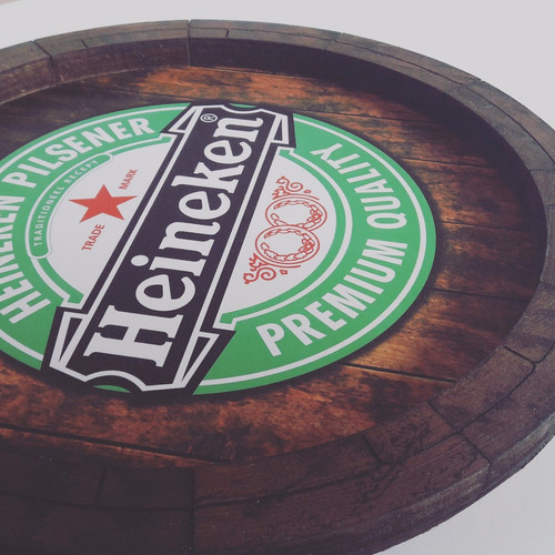 quadros decorativos tampa de barril cerveja monte seu kit