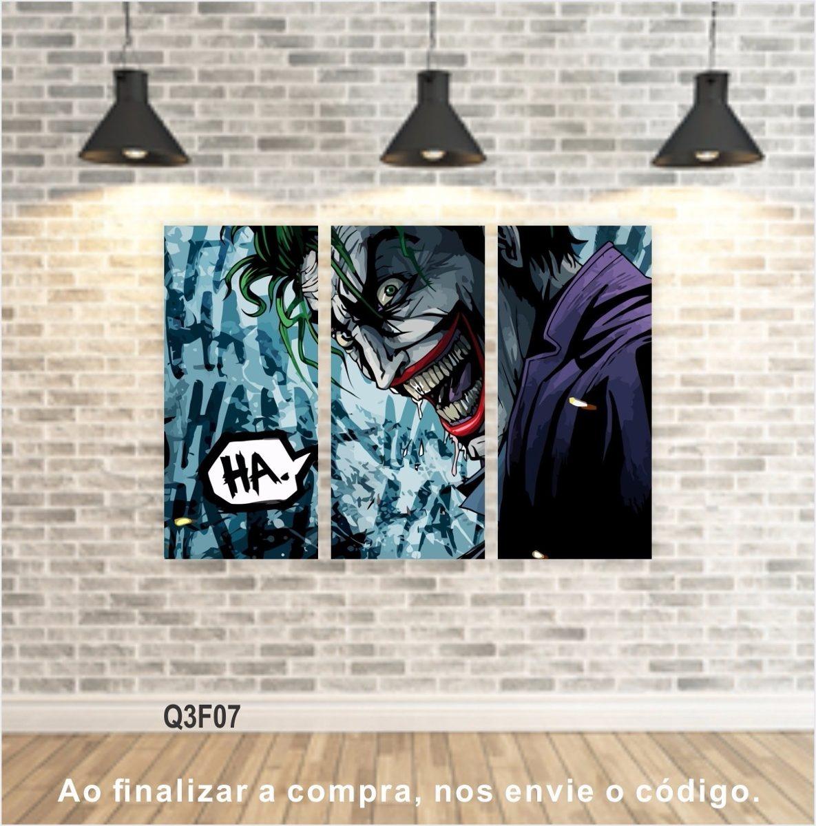 9fc9bf4e8 quadros filmes series decorativos telas canvas conjunto de 3. Carregando  zoom.