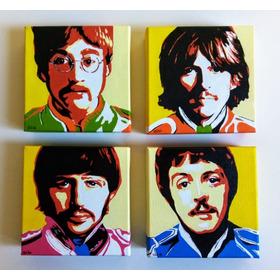 Quadros Para Sala Ou Quarto - Beatles