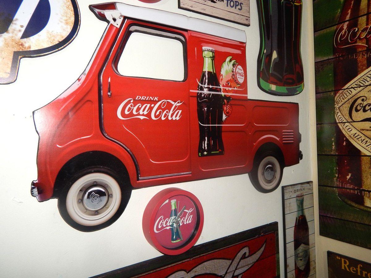 Quadros Retro Marcas Vintage Coca cola Pepsi Shell Harley R$ 130 00  #AC281F 1200 900