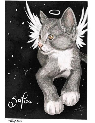 quadros/desenhos a mão de seus animais