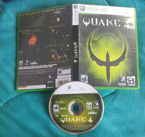 quake 4  - español - platinum hits / xbox 360 live