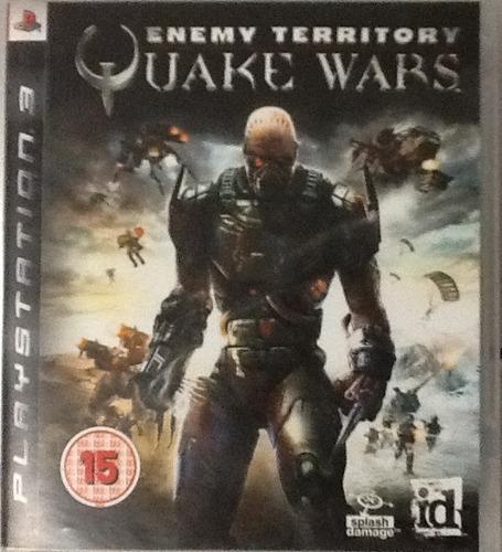 quake wars enemy territory para ps3