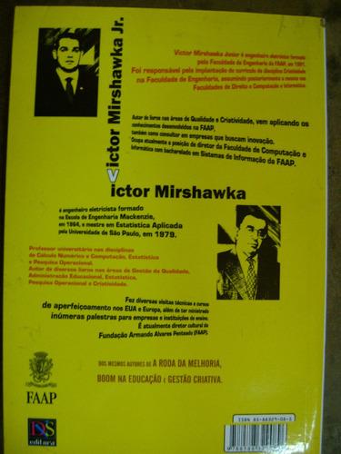 qualidade da criatividade vol 1 victor mirshawka jr 105
