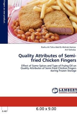 quality attributes of semi-fried chicken finger envío gratis