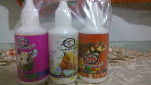 quality kit pro salud hamster  3 x 45 ml
