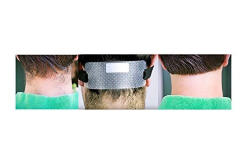 quality time neck hair line - 2 plantillas para afeitarse y