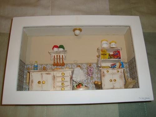 quandro em miniatura, vários modelos